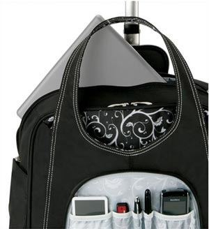 Internal Design of Kensington Roller Laptop Bag