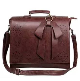 Ecosusi Ladies Faux Leather Messenger Bag Review