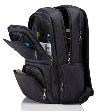 Internal Design of Polaris Premium Laptop Backpack For Women