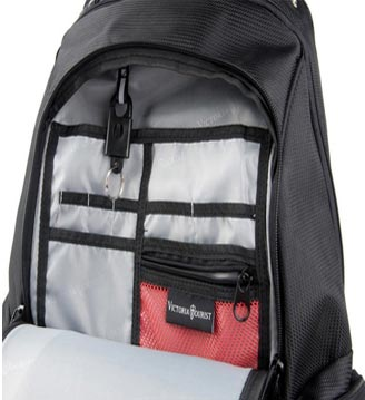 Internal Design of Victoriatourist Laptop Backpack With Checkfast Sleeve
