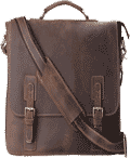 Kattee Leather Laptop Shoulder Bag For Men
