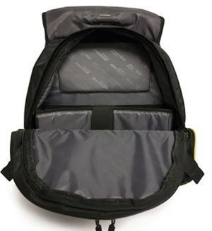 Internal design of Mobile Edge Premium Laptop Backpack