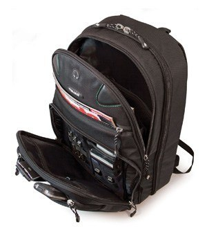 Internal design of Mobile Edge Scanfast Eco-Friendly Laptop Backpack