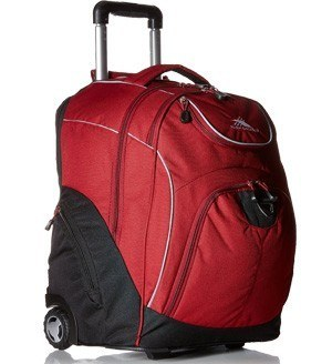 High Sierra Powerglide Wheeled Computer Backpack Review