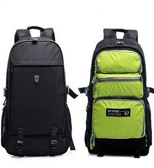 Front side of Top Power Travel Backpack With Laptop Compartment