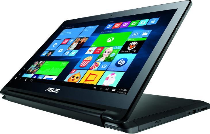 Asus 2 az 1-ben 15,6 Érintőképernyős laptop Intel Core i7 12GB memória 1TB merevlemez alumínium fekete Q552UB-BHI7T12
