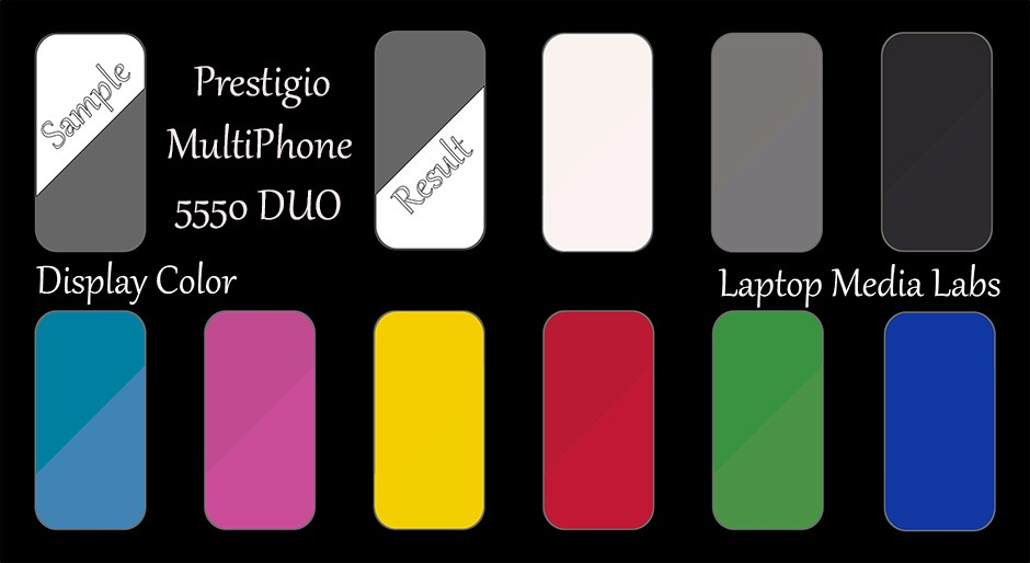 E-DisplayColor-Prestigio MultiPhone 5550 DUO