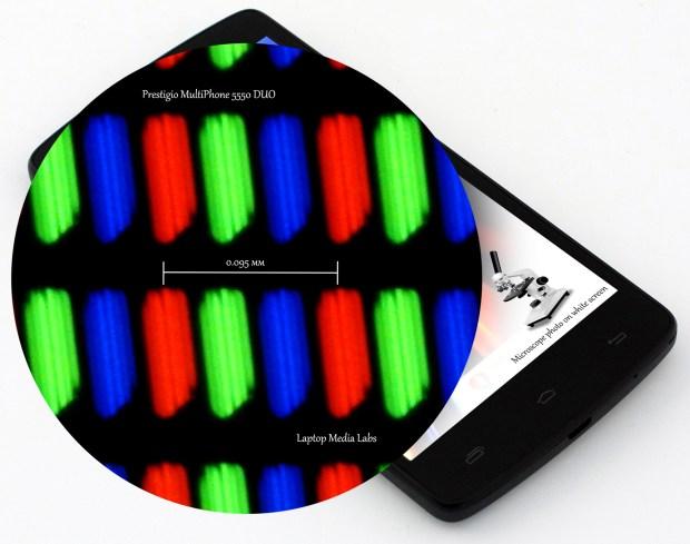 E-Microscope-Prestigio MultiPhone 5550 DUO