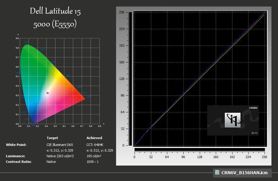 xRite-Dell Latitude 15 5000 (E5550)