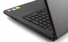 Dell Vostro 15 keyboard detail