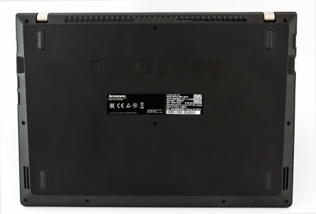 Lenovo E31 bottom
