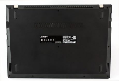 Lenovo E31 bottom