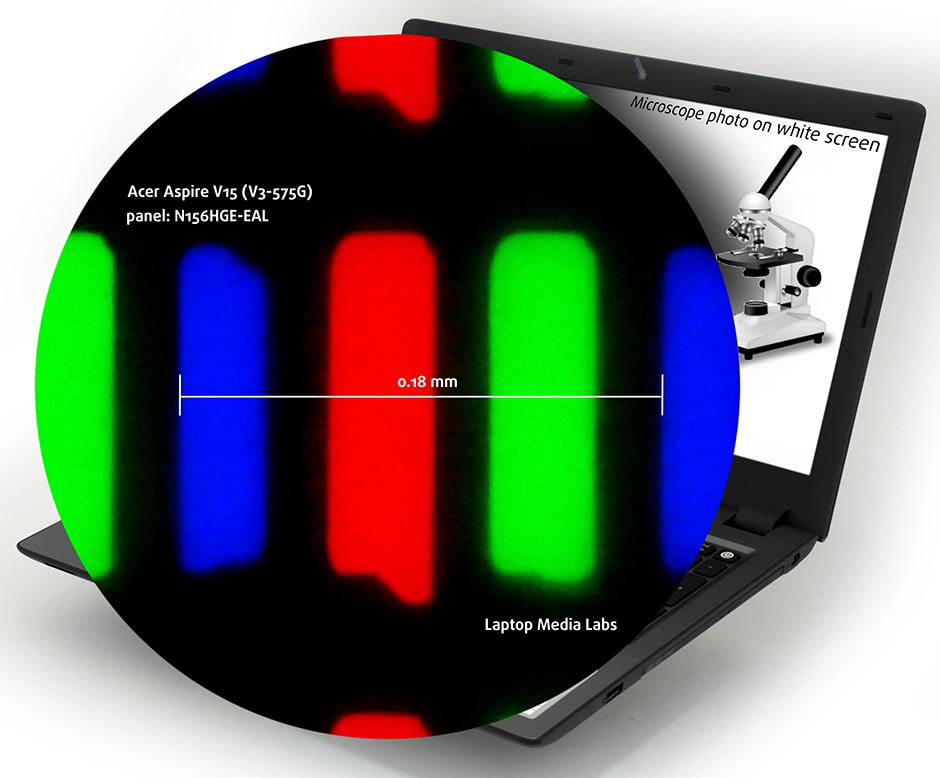 Micr-Acer Aspire V15 (V3-575G)