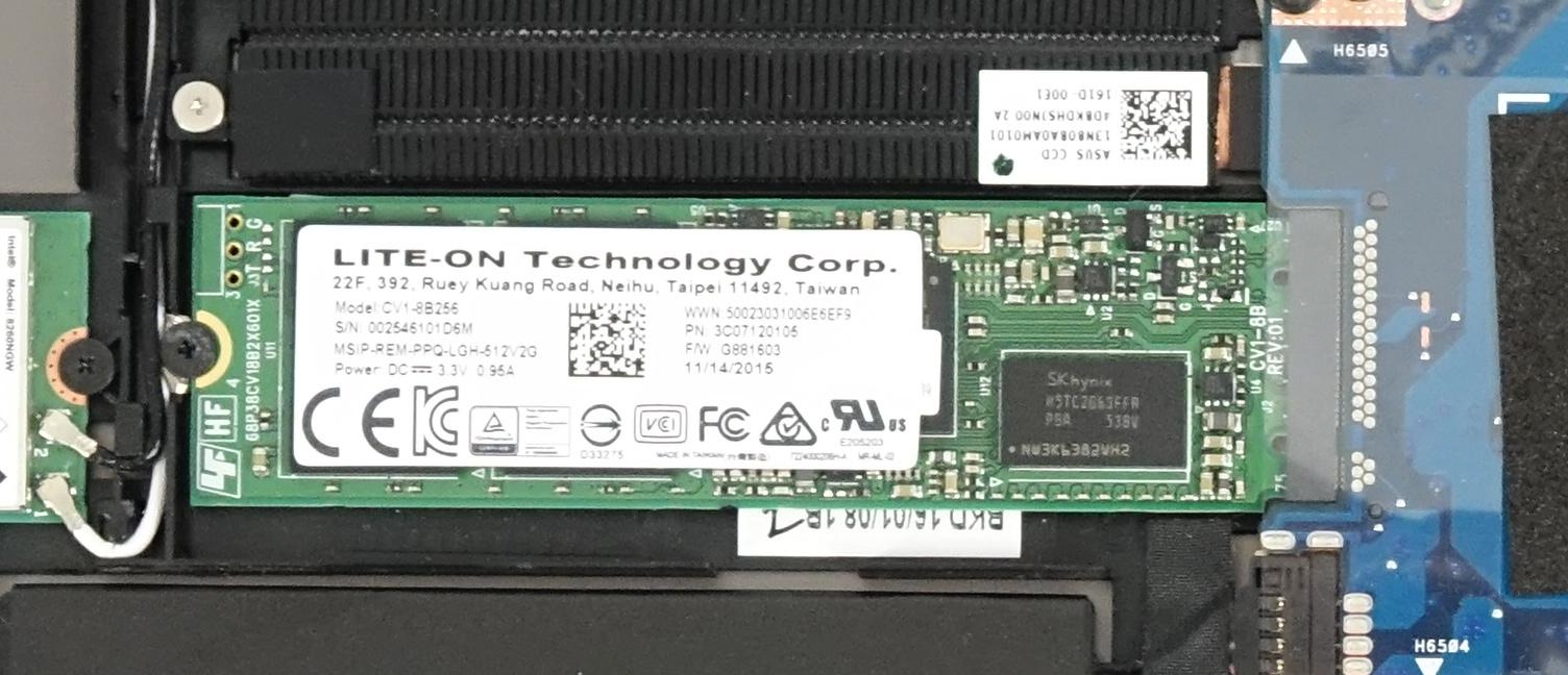 Inside ASUS ZenBook Flip UX360 Disassembly Internal