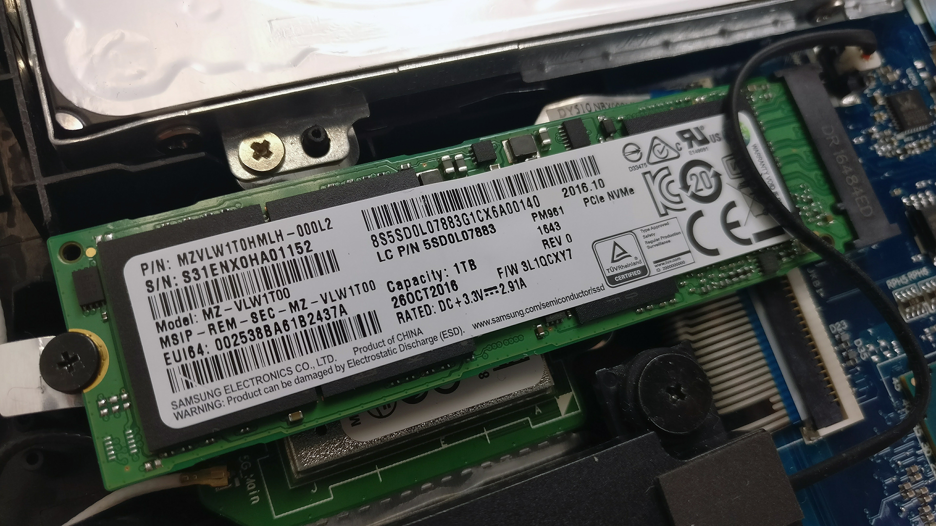 Inside Lenovo Legion Y720 Disassembly Internal Photos