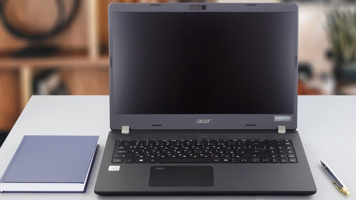 Goedkope studenten laptop voor fotobewerking en videobewerking Acer TravelMate P2