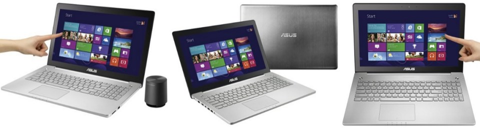 ASUS N550JK-DS71T 15.6 inch Full-HD Touchscreen Quad Core i7 Laptop