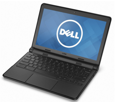 Dell CRM 3120-1667BLK 11.6-Inch Chromebook