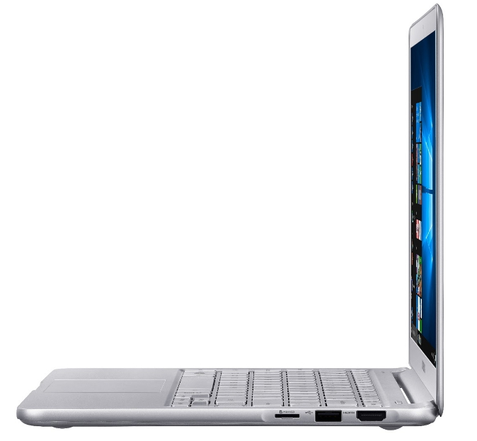 Samsung Notebook 9 Sideview