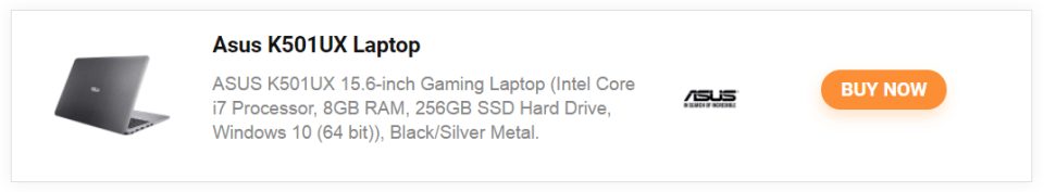 Buy ASUS K501US laptop online