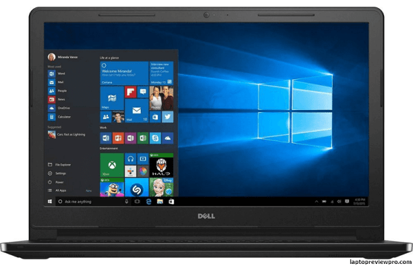 Dell Inspiron Touchscreen HD Laptop
