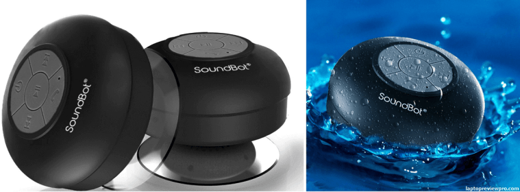 SoundBot SB510 HD Water Resistant Shower Speaker