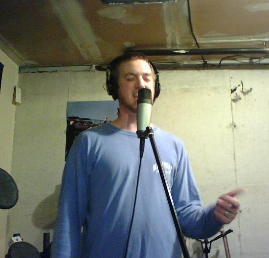 jeff copperthite singing vocals on the laptop sessions acoustic cover songs music video blog