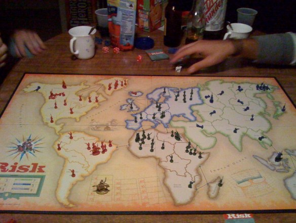 Risk Global Domination at FMP Studios