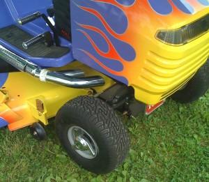 Take a closer look... no engine!