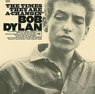 "Bob Dylan's ""The Times They Are A-Changin'"" (1963) the laptop sessions acoustic cover songs music video blog"
