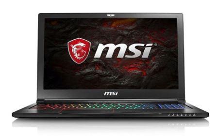 2017 MSI GS63VR Stealth Pro