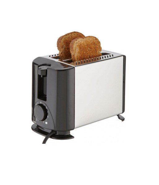 Laptronix 2  Slice Electric Toaster In Stainless Steel 700w Side     Laptronix 2  Slice Electric Toaster In Stainless Steel 700w Side Crumb Tray