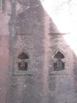 Detalle de las ventanas de Bet MIkael