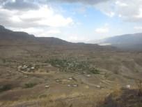 El pueblo donde se encuentra la iglesia Geneta Maryam, a la que las ampollas me impidieron ir