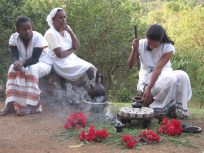 Ceremonia del café, Aregash Lodge, Yirgalem