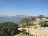Vistas al Lago Langado desde mi cuarto en Haile Resort