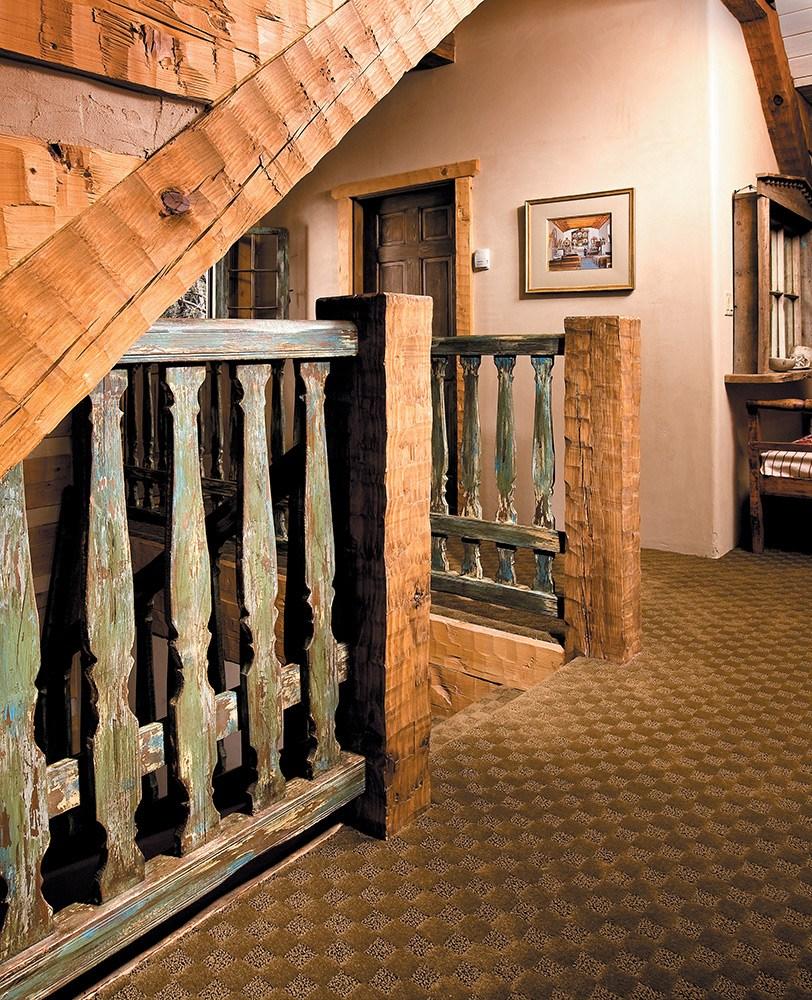Antique Balcony Rails La Puerta Originals | Antique Handrails For Stairs | Antique Brass | Wood | Antique Green | Antique Furniture | Architectural Antiques