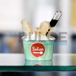 Spettacolo e sostanza, Soban-show con il gelato molecolare