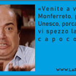 Lino Banfi subito al lavoro per promuovere il sito Unesco della provincia di Alessandria :)