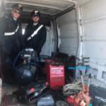 Ladro di rame e attrezzi (della Provincia) arrestato dopo molti colpi
