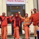 Hare Krishna per le strade di Alessandria e Casale