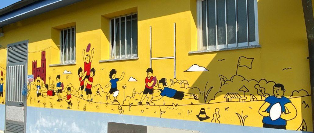 gastini murale casalbagliano rugby
