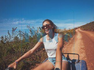 ragazza bici natura monferrato sport tempo libero