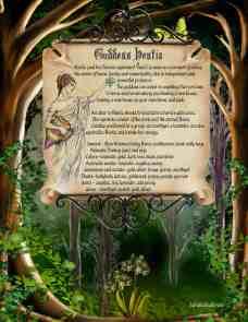 Goddess Hestia information spell page 2