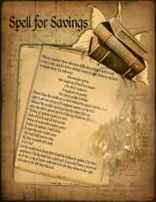 Money magick spell page 1