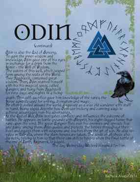 Odin - Northern God information page 2