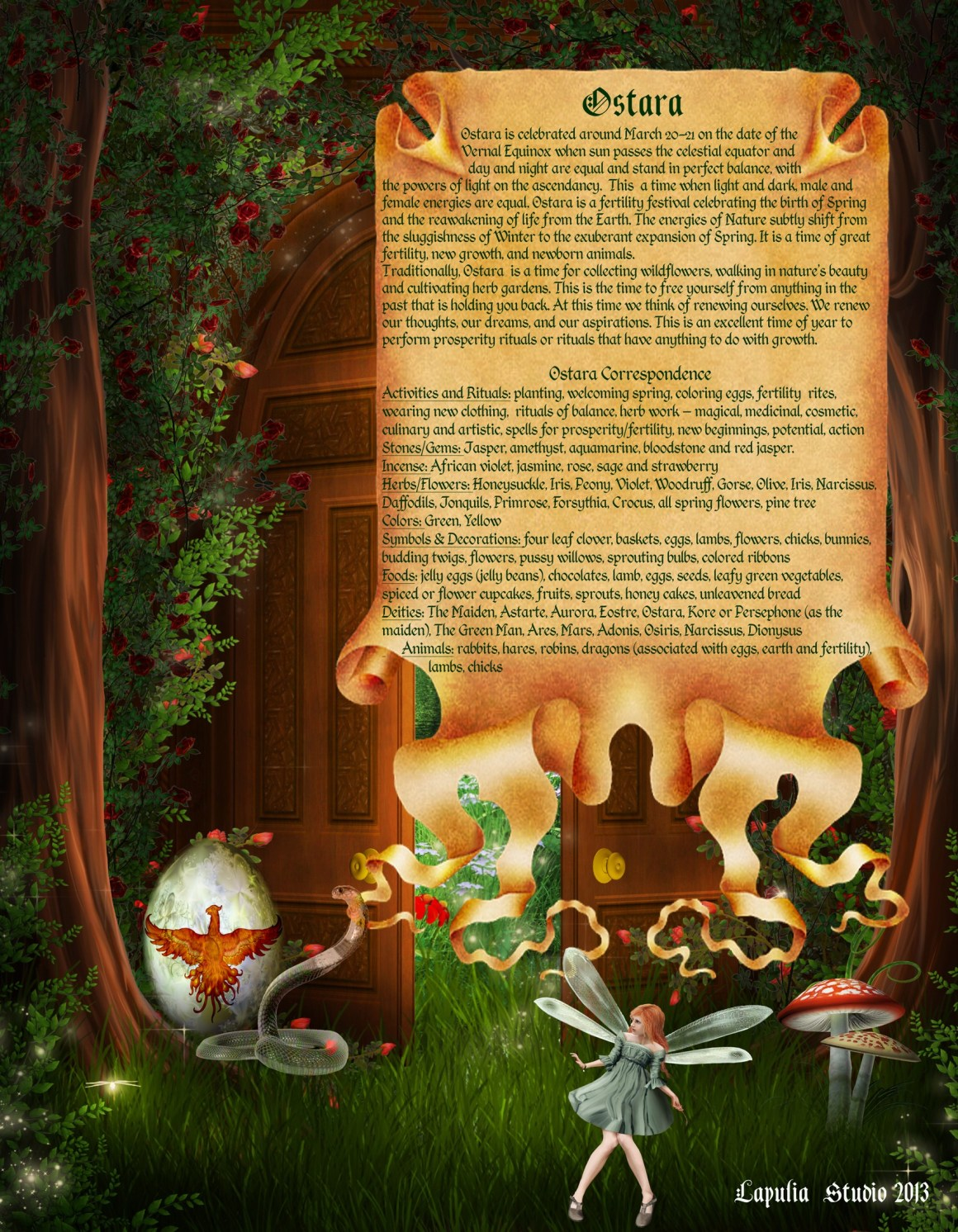 Ostara page 3 - Pagan Wiccan Holiday Information