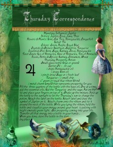 Thursday Correspondence magick information page