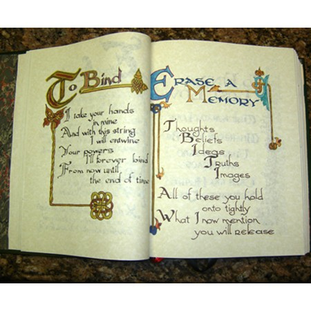Charmed Book of Shadows pages