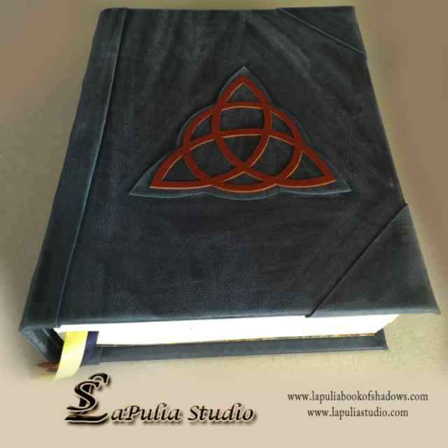 Charmed / Triquetra Blank Book of Shadows